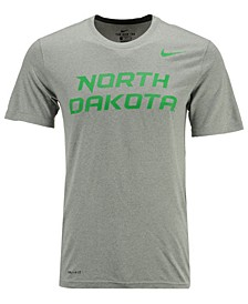 Men's North Dakota Fighting Hawks Dri-Fit Legend Wordmark T-Shirt