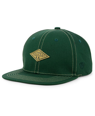 wholesale dealer abd51 f817c ... hot top of the world miami hurricanes diamonds snapback cap sports fan  shop by lids men
