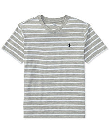 Ralph Lauren V-Neck T-Shirt, Big Boys