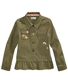 Epic Threads Twill Utility Jacket, Little Girls, Created for Macy's