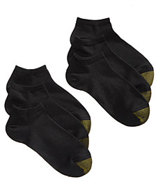 Gold Toe Women's 6-Pk. Casual Ultra-Soft Liner Socks