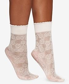 Women's  Daisy Floral Anklet Socks 5119