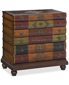 Library 6-Drawer Chest, Quick Ship