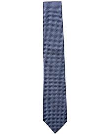 Alfani Men's Geometric Neat Silk Slim Tie, Created for Macy's