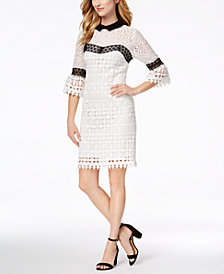 Nanette by Nanette Lepore Crocheted Dress