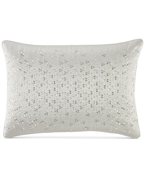 Hotel Collection Gilded Geo Embroidered King Sham, Created for Macy's
