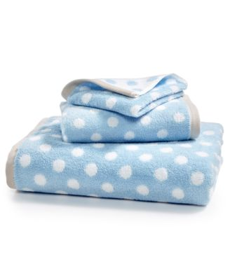 Cotton Dot Spa Fashion Bath Towel Created For Macy S