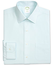 Brooks Brothers Men's Extra Slim-Fit Non-Iron Ainsley Broadcloth Stretch Dress Shirt