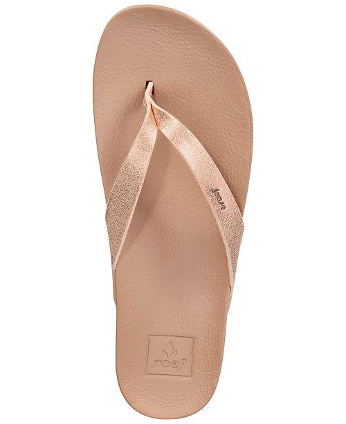 658ef45be2e2 REEF Cushion Bounce Court Flip-Flop Sandals   Reviews - Sandals ...