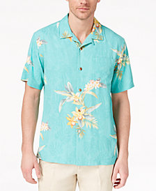 Tommy Bahama Men's Open Water Blooms Silk Shirt