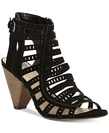 Vince Camuto Evalina Cone-Heel Dress Sandals, Created for Macy's