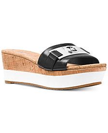 MICHAEL Michael Kors Warren Platform Wedge Sandals