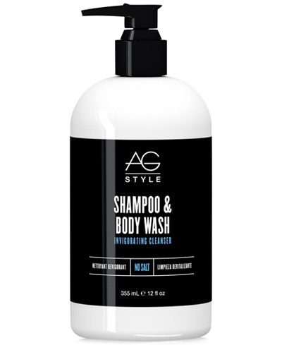AG Hair Shampoo & Body Wash, 12-oz., from PUREBEAUTY Salon & Spa