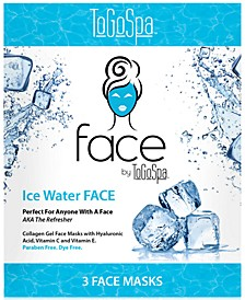 ToGoSpa Ice Water Face Collagen Gel Mask, from PUREBEAUTY Salon & Spa