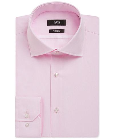 BOSS Men's Regular/Classic-Fit Cotton Dress Shirt