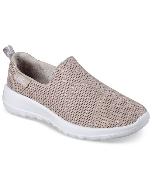 official photos 578ae 0a7c8 ... Skechers Women s GOwalk Joy Casual Walking Sneakers from Finish ...