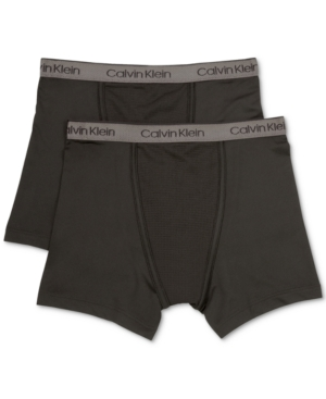 Calvin Klein 2Pk Cotton Boxer Briefs Little Boys  Big Boys