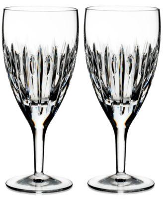 Mara Iced Beverage Glass Pair