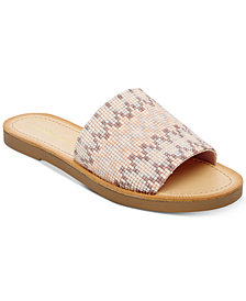 Madden Girl Luluu Embellished Slide Sandals