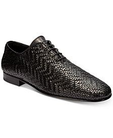 Roberto Cavalli Men's Soft Woven Loafers