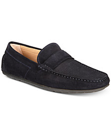 HUGO Men's Traveling Dandy Suede Moccasins
