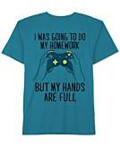 Jem Video Games Graphic-Print Cotton T-Shirt Big Boys
