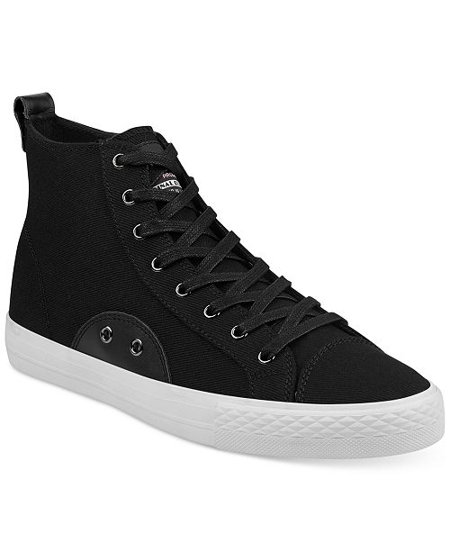Guess Men's Perio High-Top Sneakers Men's Shoes TIy5QvREQ