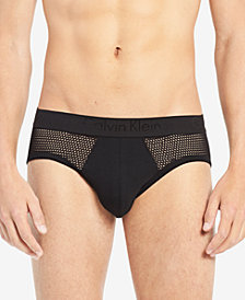 Calvin Klein Men's Mesh Hip Briefs