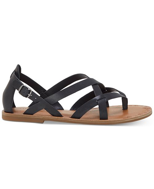 Lucky Brand Ainsley Strappy Thong Sandal (Women's) XaZP65AF8