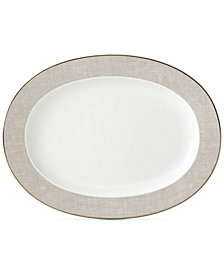 kate spade new york Savannah Oval Platter
