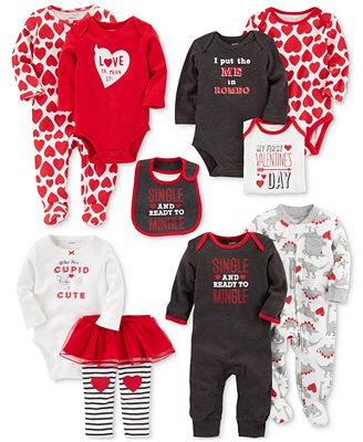 Carter's Holiday Graphic-Print Separates, Baby Boys or Girls