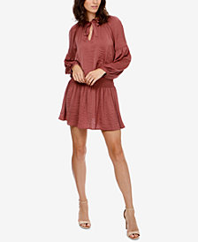 Lucky Brand Drop-Waist Choker Dress