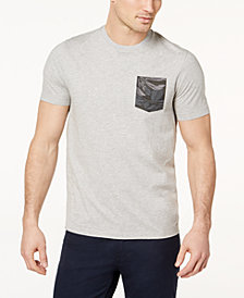 Michael Kors Men's Botanical-Print Pocket T-Shirt