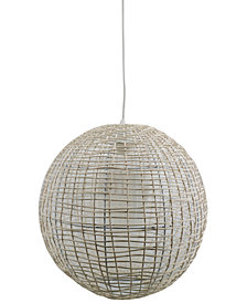 Pacific Coast Ball Work Rattan Fixture, Created for Macy's