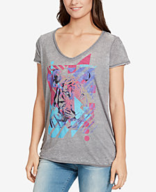 WILLIAM RAST Multicolor Tiger-Print T-Shirt