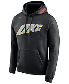 Nike Men's Oklahoma City Thunder City Club Fleece Hoodie