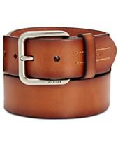 2e1a94957 Tommy Hilfiger Mens Belts & Suspenders - Macy's