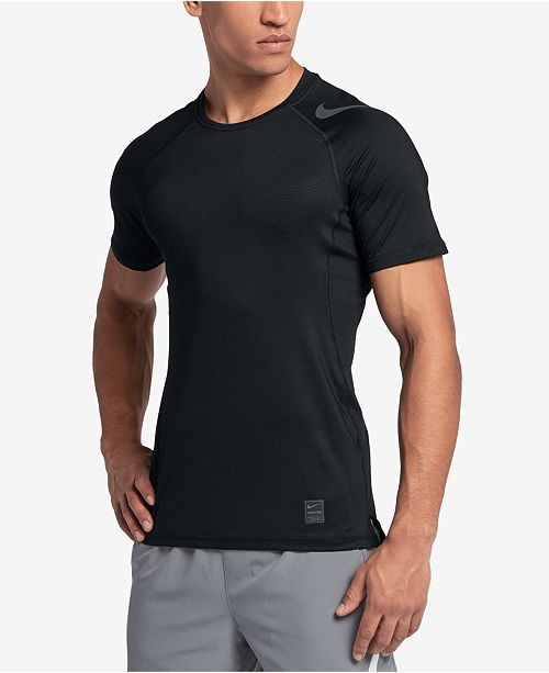 4e533fe0 Nike Men's Pro HyperCool Fitted T-Shirt; Nike Men's Pro HyperCool Fitted T-  ...