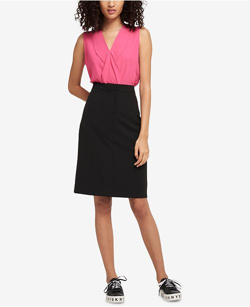 DKNY Trouser Pencil Skirt, Created for Macy's
