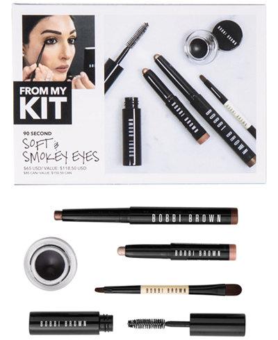 Bobbi Brown 5-Pc. 90 Second Soft & Smokey Eyes Set