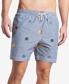 "Tommy Hilfiger Men's 6.5"" Hammond Swim Trunks, Created for Macy's"