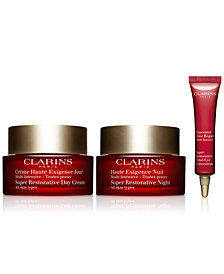 Clarins 3-Pc. Super Restorative Youth Activating Routine Gift Set