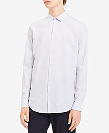 Calvin Klein Men's Yarn-Dyed Shirt