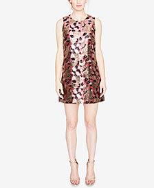 RACHEL Rachel Roy Floral Jacquard Shift Dress