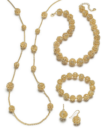 Charter Club Gold-Tone Filigree Sets, Created for Macy's