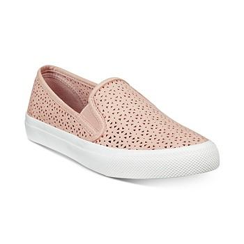 Sperry Women's Seaside Perforated Slip-On Sneakers