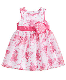 Marmellata Floral-Print Dress, Little Girls