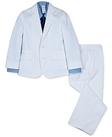 Nautica 4-Pc. Twill Suit Set, Little Boys