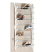 Whitmor Over The Door Shoe Rack, 24 Pair