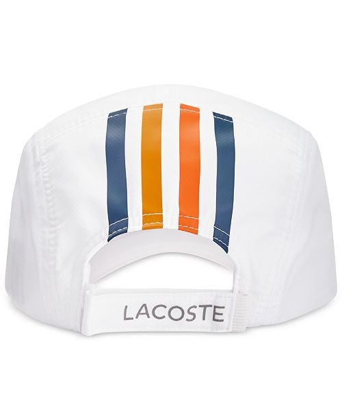 Lacoste Men s Diamond-Weave Taffeta Sport Hat - Hats 5e88f037951b